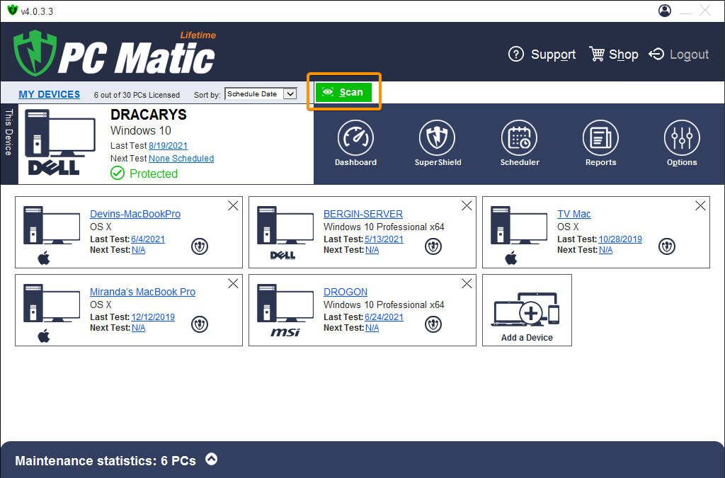 Add Device | PC Matic
