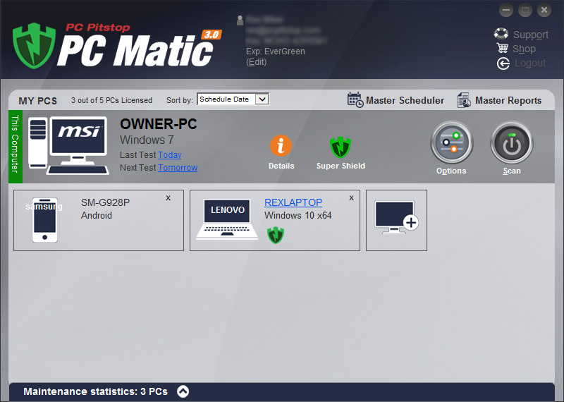 PC Matic® with SuperShield