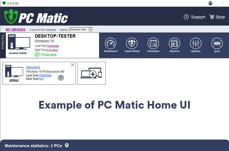 Official PC Matic Support